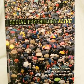 Social Psychology Alive