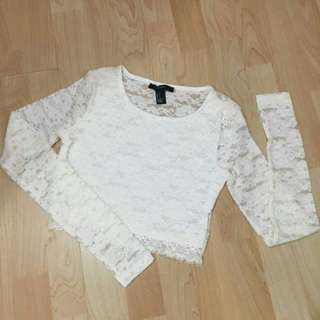 Lace Crop Top Forever21