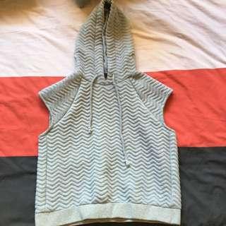 Grey Sleeveless Jumper