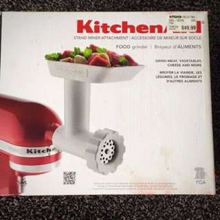 Kitchen Aid Food Grinder