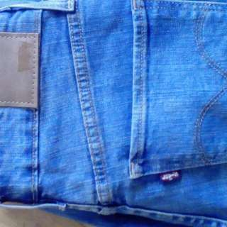 Levis High Rise Skinny Blue Size 27
