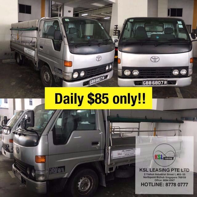 0aaa60dd52 10ft Lorry For Rent - TOYOTA DYNA 150 FULL CANOPY