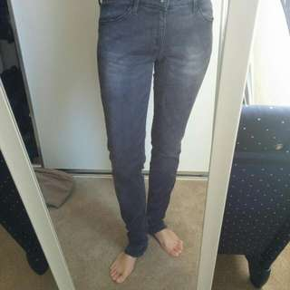 Uniqlo Stretch Jeans Black