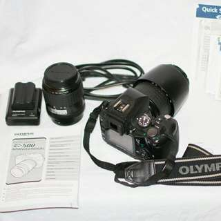 Olympus EVOLT E-500 DSLR 8MP