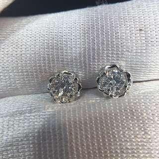 情人節鑽石耳環