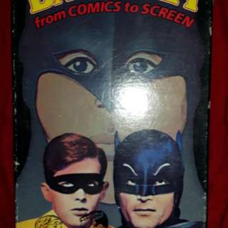 VHS  Tape Original Batman And Robin