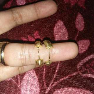 italy gold earing
