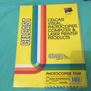 Photocopier Film