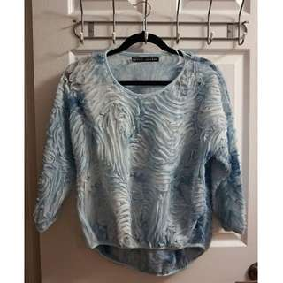 ZARA Textured Shirt (Size S)