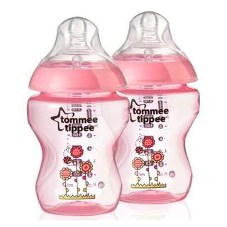 Tommee Tippee Tinted Bottle 260ml - Twin
