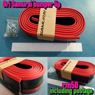 Original Samurai Lips Bumper
