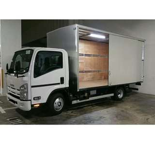 NEW ISUZU 15FT (A) Boxed Truck Lease