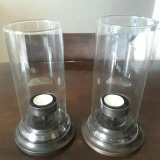 (Priced To Sell) Metal Tea / Candle Light Stand