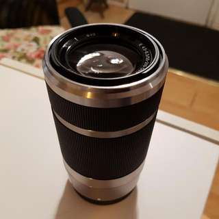 Sony 55-210mm Telephoto Zoom Lens For E Mount