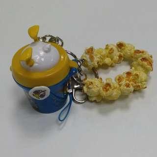 含郵)唐老鴨 爆米花 吊飾 迪士尼