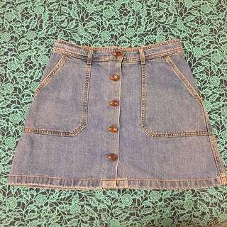 Zara Denim Skirt - Size M