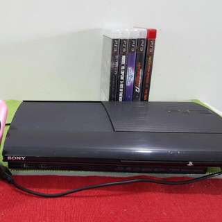 Ps3 Super Slim 500gb With 35 GAMES!