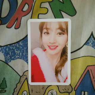 [WTTrade]Twicecoaster:lane 1 Chrismas Edition Jihyo Photo Card Trade For Other Member