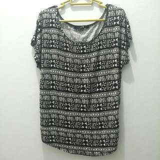 Forever 21 Tribal Loose Tee