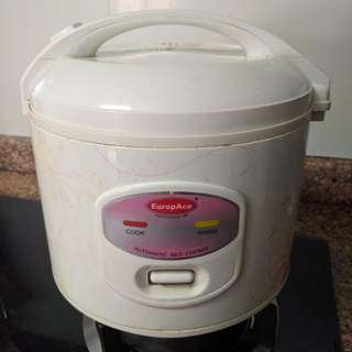 Rice cooker with steamer (used)