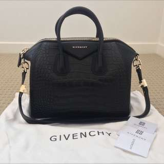 REDUCED : Authentic Givenchy Antigona (Croc Embossed)