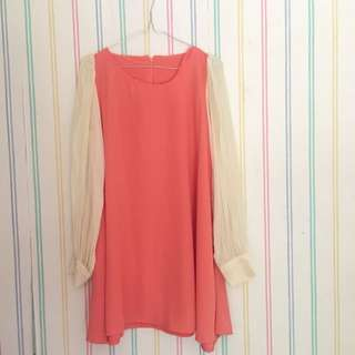 DRESS CHIFFON