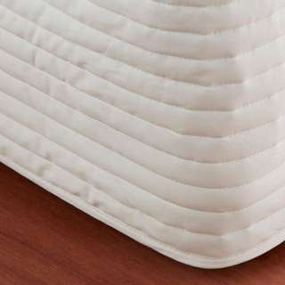 Queen size Sheridan Classic Percale quilted bedskirt