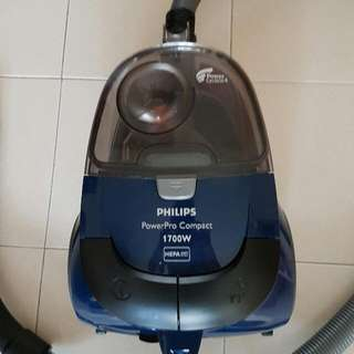 Philips 1700w Bagless Vacuum Cleaner