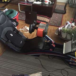 Playseat® F1 Red Bull Racing Fanatec, Thrustmaster, PS4, XBox PC Gaming Seat