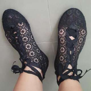 Sportsgirl Lace Shoes