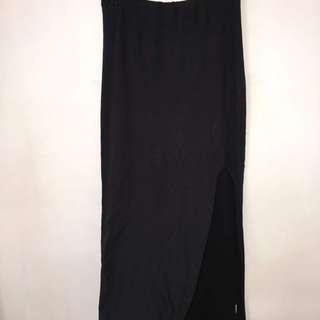 Kookai Long Split Skirt