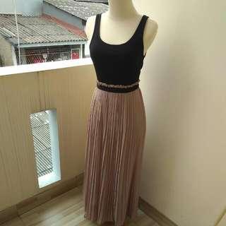 Long Dress Top Size M-L