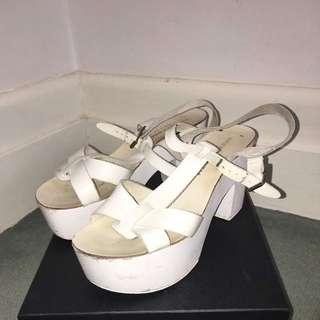 Windsor Smith White Clogs