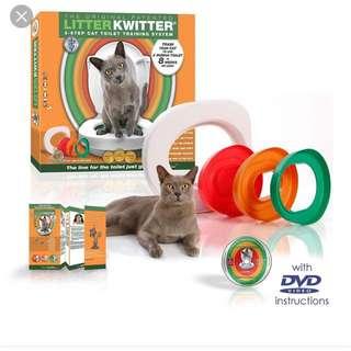 🚚 Litter Kwitter 貓咪入廁 訓練器 貓砂 馬桶訓練器