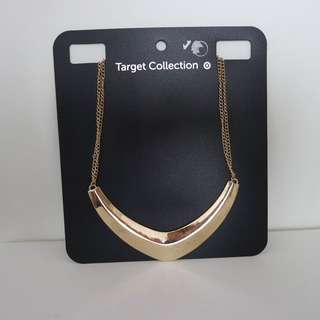 BN Gold Plated Necklace
