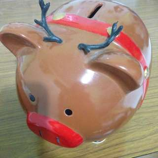 Reindeer Piggy bank