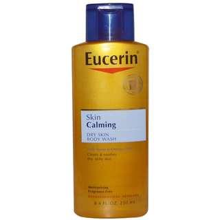 Eucerin, Skin Calming, Dry Skin Body Wash, Fragrance Free