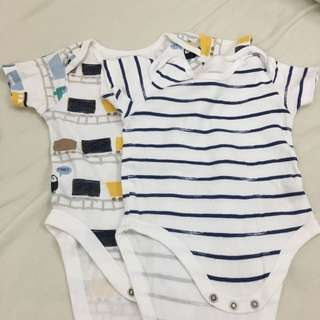 Mothercare Baby Romper- Sets Of 2