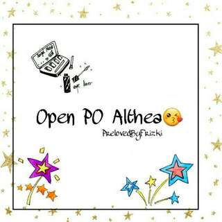 Open PO Althea!