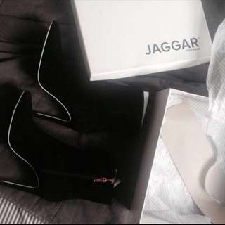 JAGAAR suede & Leather Heels / Boots