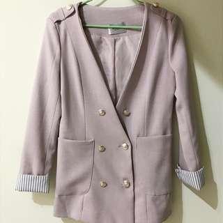 V領 西裝外套/大衣 M