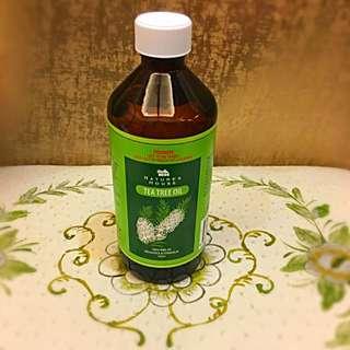 🚚 《全新出售》第二瓶8折 NATURE'S HOUSE 100%茶樹精油 500ml