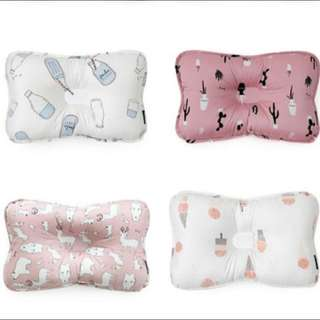 韓國代購✈️ [borny]新生嬰兒防偏頭定型透氣枕0-6個月/6-36個月