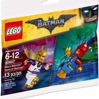 Lego The Batman Movie 30607 Disco Batman/Tears of Batman