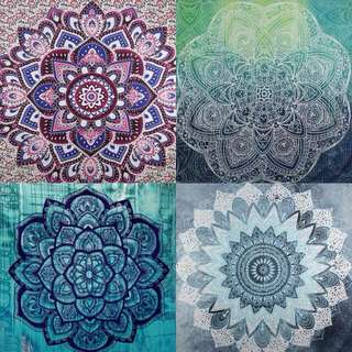 [Include Postage] Mandala Wall Hanging Tapestry