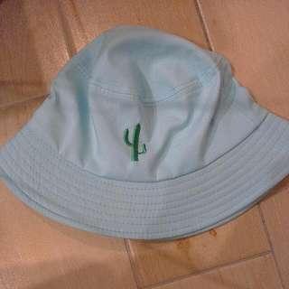 仙人掌天空藍漁夫帽