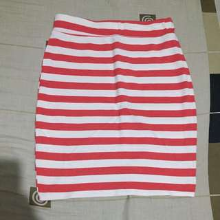 Stripes Skirt