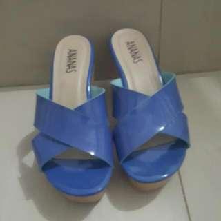 Sandal Ananas Biru Sz 38