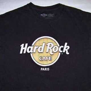 Hard Rock Tshirt PARIS