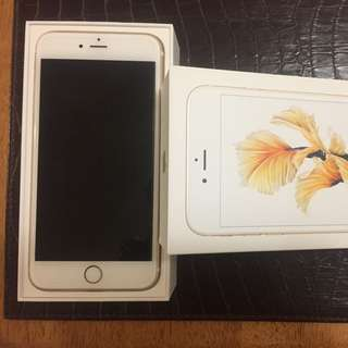 Gold iPhone 6s Plus 128gbs